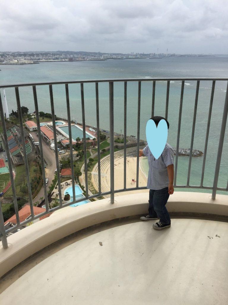 ザ・ビーチタワー沖縄の景色