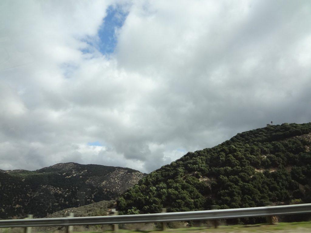 テコパまでの景色