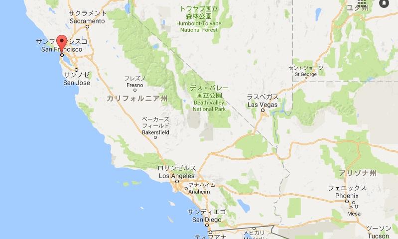 サンフランシスコ地図