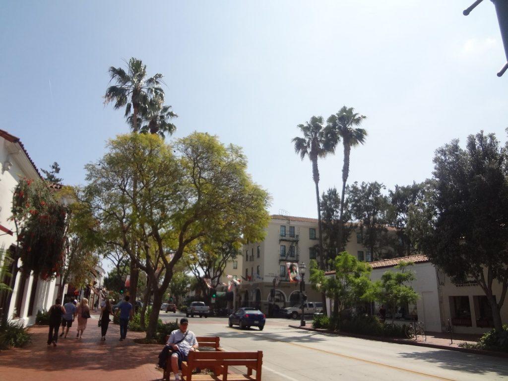 サンタバーバラの街並み