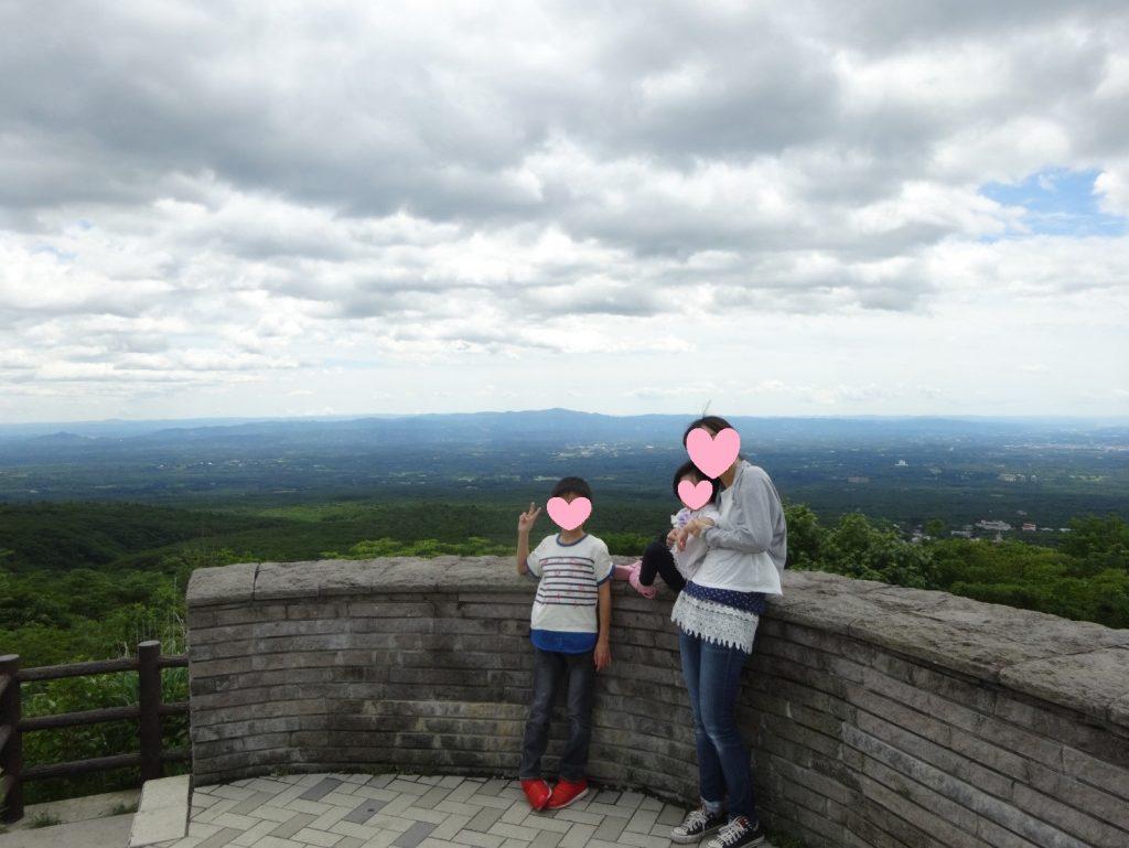 那須高原展望台の景色
