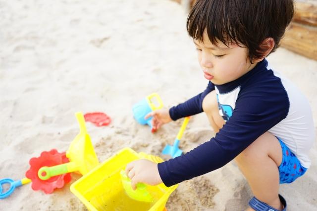 海水浴持ち物リスト:砂遊びセット